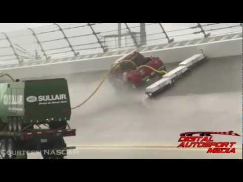 NASCAR Debuts New Air Titan Track Drying System