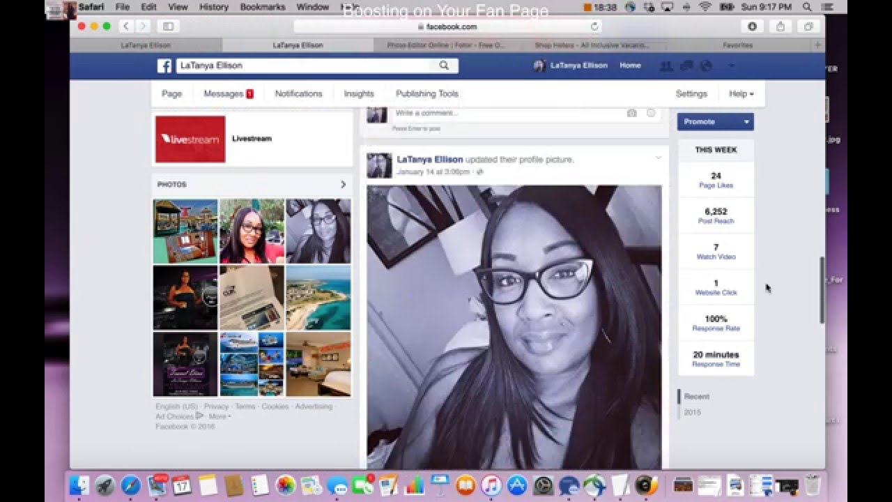 How to Use Facebook Boost Post to Grow Your Business - YouTube