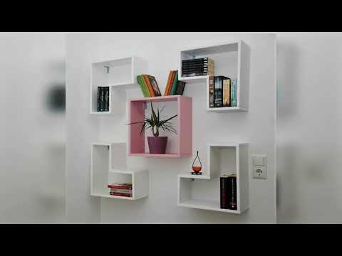 Best Creative Wall Decore Ideas | Book Shelves | Liberary Almariah | Wall Decore Furniture