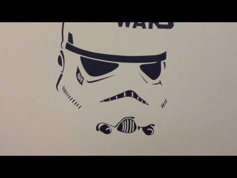 GearBest - W-12 Stormtrooper Style Wall Sticker / Vinyl Decal