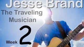 Jesse Brand the Traveling Musician - Episode 2 = Invercargill/Dunedin