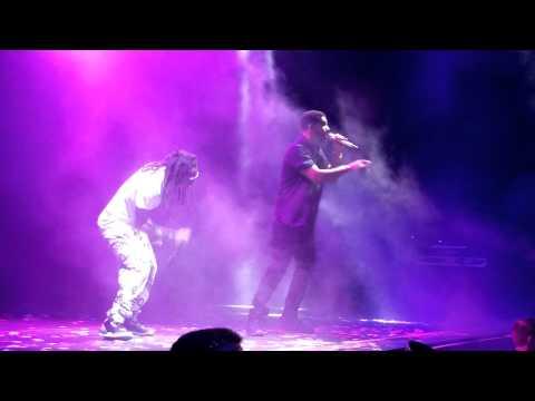 Drake vs Lil Wayne Grindin Ront Row Indy