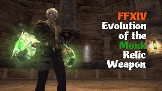 FFXIV Evolution of the Monk Relic Weapon [Feat. PotD Final Boss theme (Nybeth Obdilord)]