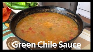 How to Make Traditional New Mexican Green Chile Sauce