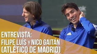 Entrevista Filipe Luís y Nico Gaitán // No te pierdas la broma de Filipe