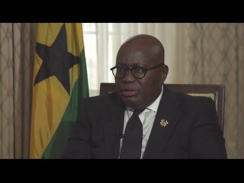 """""""C'est à l'Afrique d'améliorer les conditions de vie"""", estime le président ghanéen"""