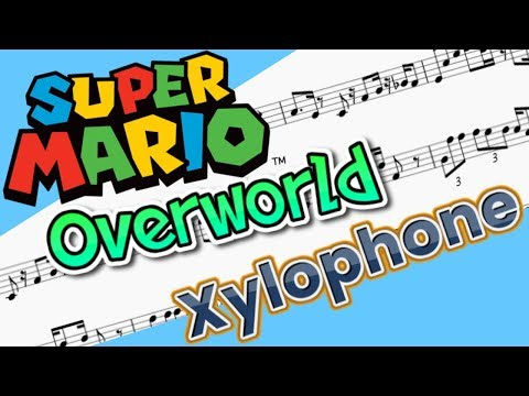 Xylophone Mario Overworld Sheet Music