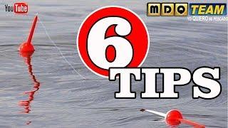 6 CONSEJOS para pescar mas