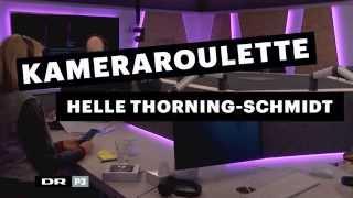 Helle Thorning-Schmidt ruller kamerarouletten i Go' Morgen P3