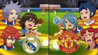 [Full HD 1080P] Inazuma Eleven UCL ~ Real Madrid vs Manchester United ※Pokemon Anchor※