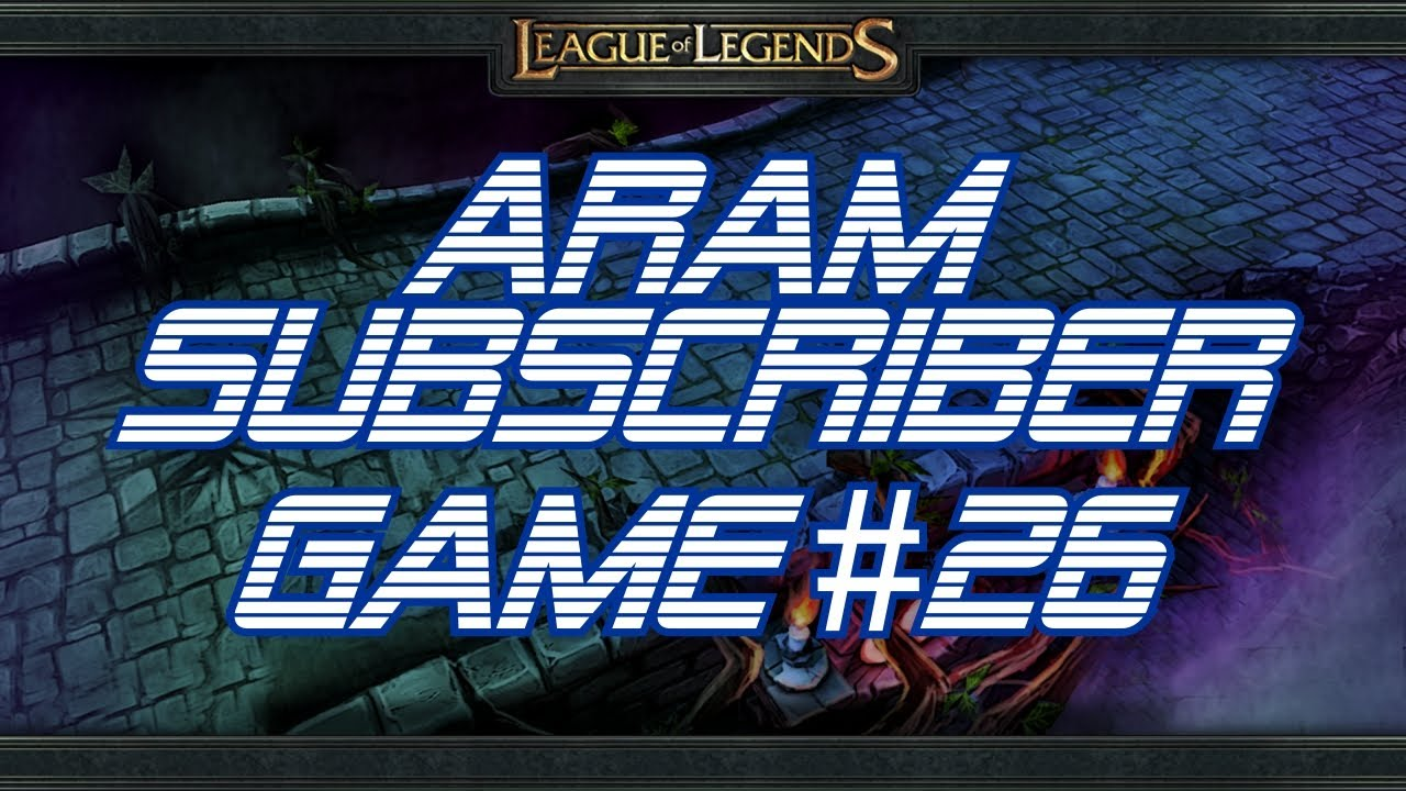 Lolpov Aram Subscriber Game 26 Graves League Of Legends Live Commentary Youtube Best build guides, aram runes, spells and items for graves. youtube