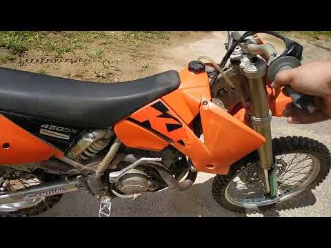 Download Ktm Sx450 2003 rfs engine noise