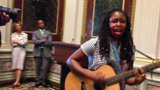 Anita Antoinette Perform at White House's Caribbean Heritage Month Event.