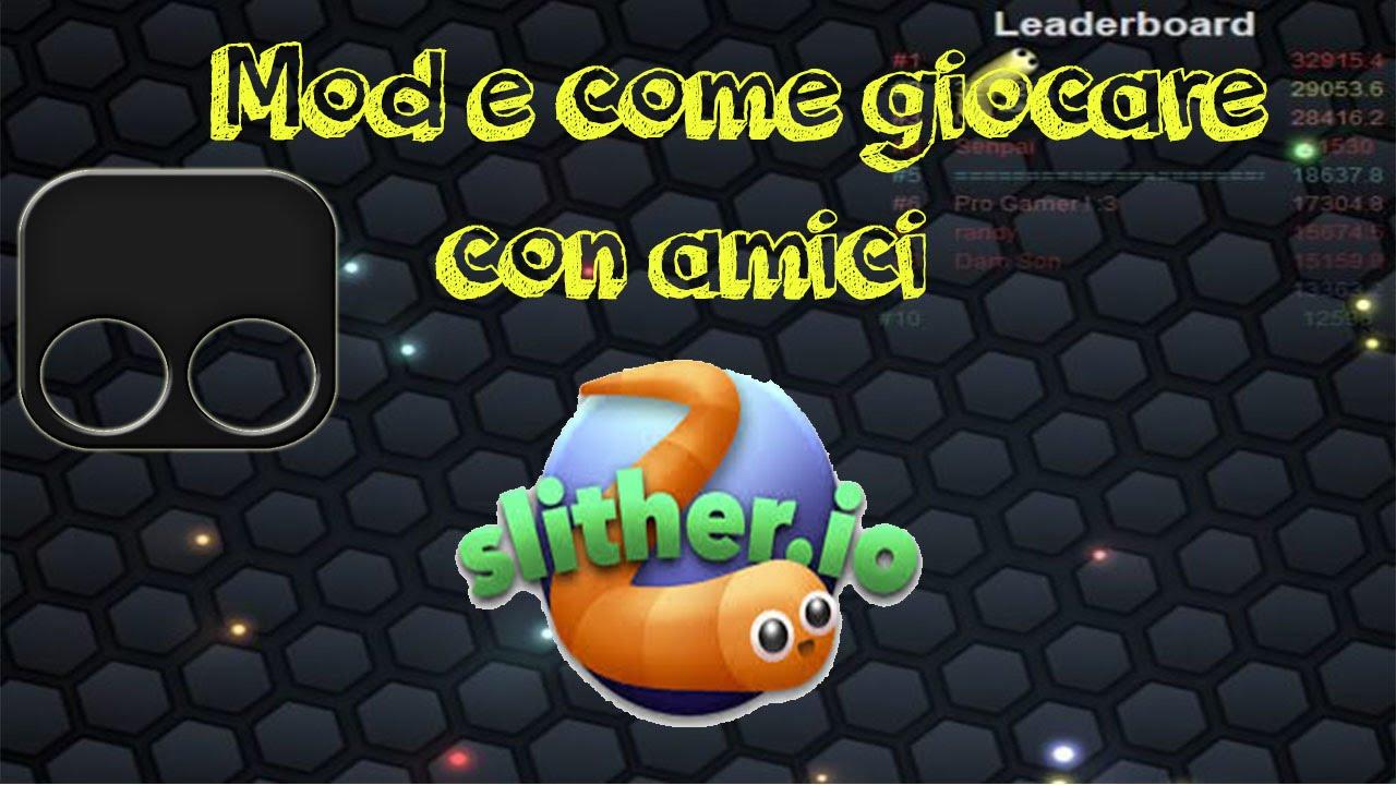 Slither.io - giocare con gli amici infami!   MMORPG ITALIA
