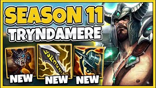 NEW SEASON 11 FЏLL GAMEPLAY! THEY UPDATED TRYNDAMERE! - League of Legends