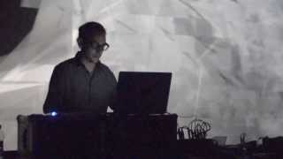 Cristian Vogel at NextSound festival 2013