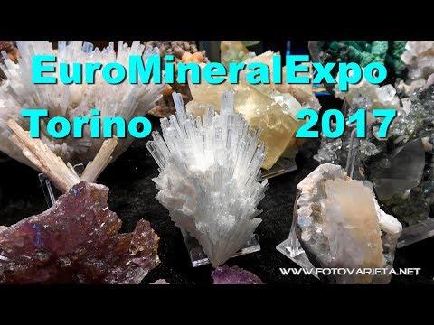 Euromineralexpo 2017 Torino, International Exhibition Of Minerals & Fossils