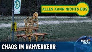 Öffentlicher Nahverkehr: Jede Fahrt ein Abenteuer | heute-show vom 22.03.2019