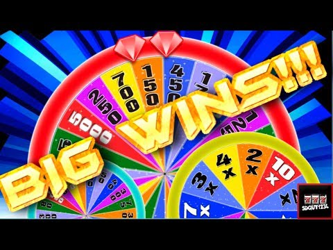 Lots of Variety of Wheel of Fortune Slot Machines! Lots of Bonuses and Live Play
