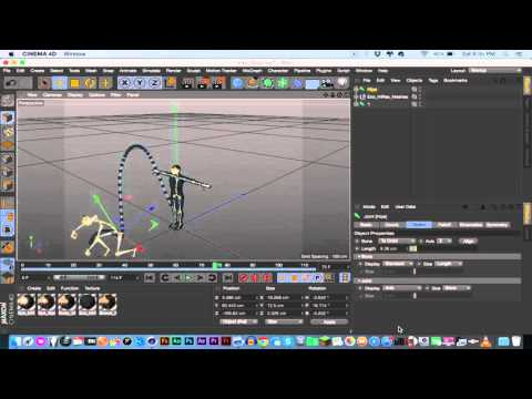 Repeat How to scale rigged Characters in Cinema4D by Aleksey