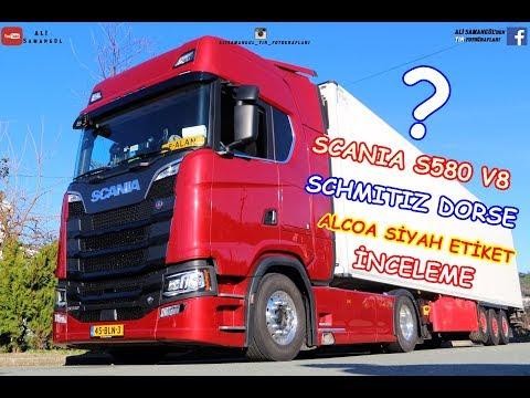 NEW SCANIA S580 V8 / SCHMITZ DORSE REVIEW / ALCOA RIM