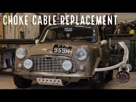 Classic Mini DIY: Replacing Your Classic Mini Choke Cable   Seven
