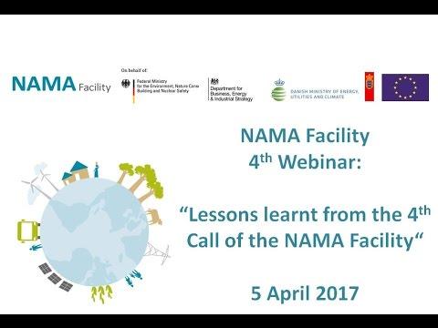 17 04 05 NAMA Facility Webinar Lessons learnt