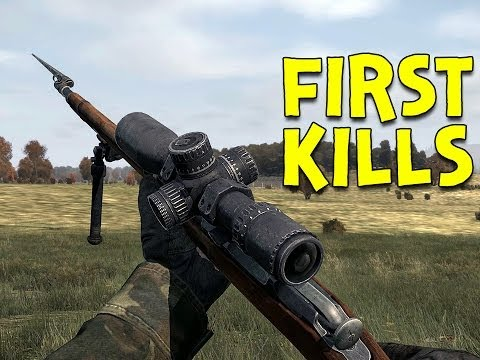 FIRST KILLS! - DayZ Standalone - Ep.2