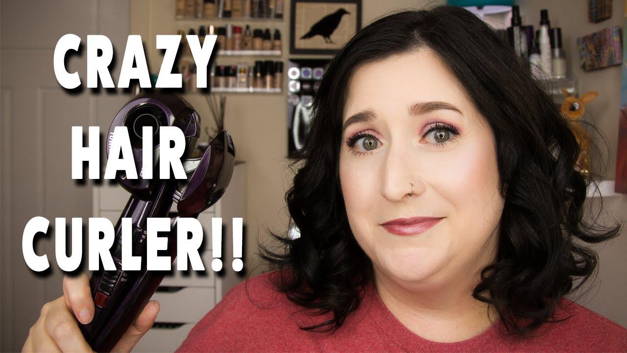 Crazy Hair Curler Conair Infinity Pro Curl Secret