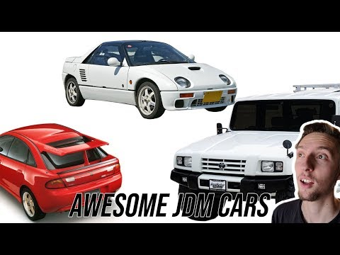 Eight Awesome JDM Cars You've NEVER Heard Of