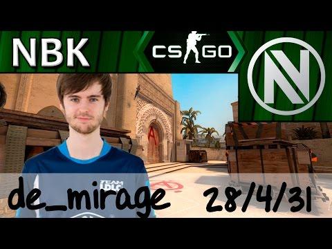 EnVyUs NBK playing de_mirage | 1
