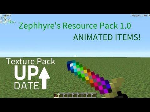 Zephhyre's Resource Pack V 1.0 [For Minecraft 1.6.2]