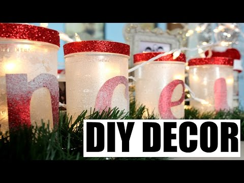 4 Easy DIY Holiday Decor Ideas!!! (Part 2)