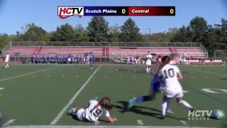 Girls' Varsity Soccer vs  Scotch Plains-Fanwood