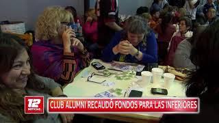 Exitoso mate-bingo en Club Alumni.