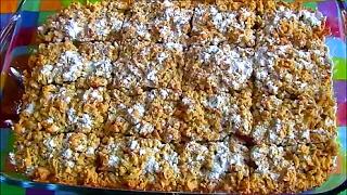 Тертый пирог с яблоками / Песочный яблочный пирог