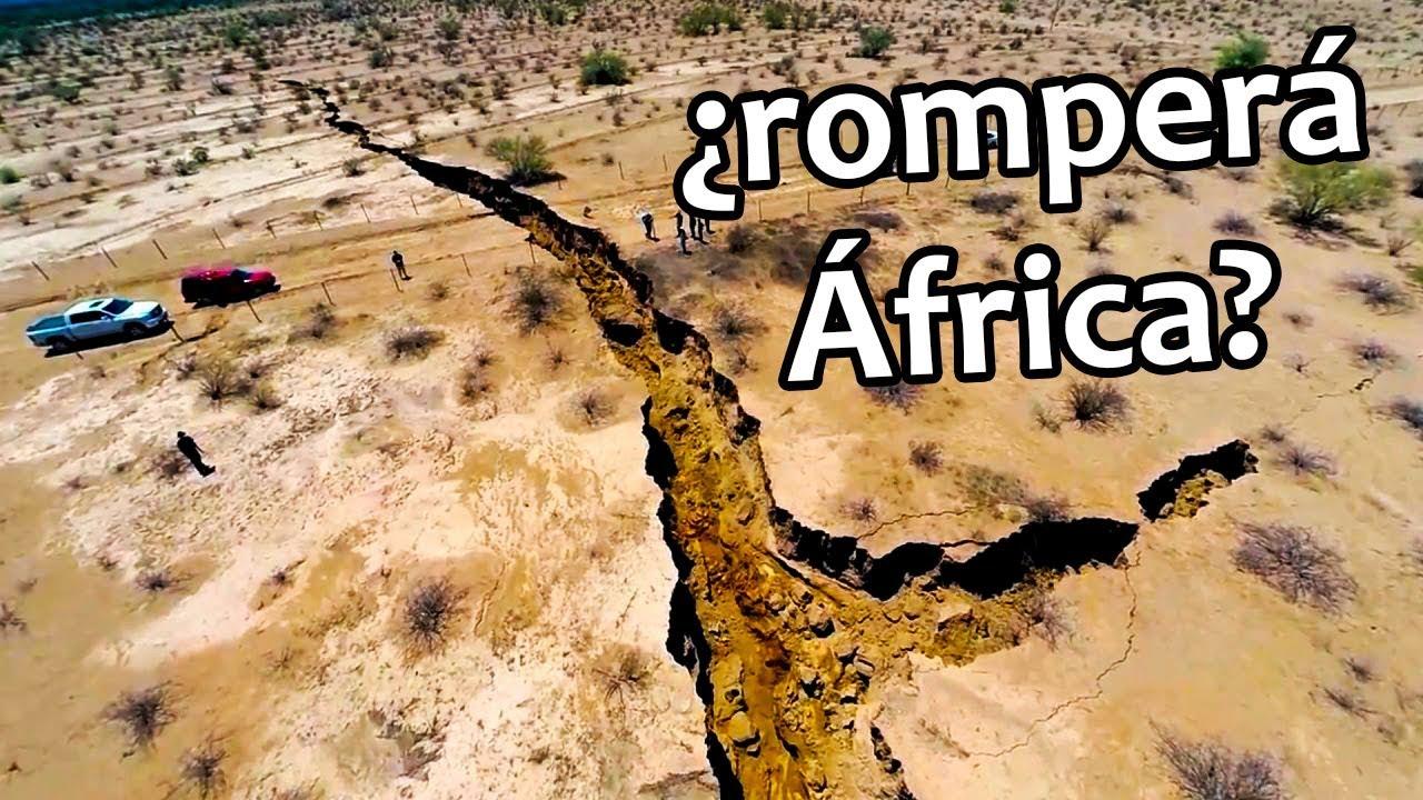 Aparece enorme grieta en África | Noticias 09/04/2018