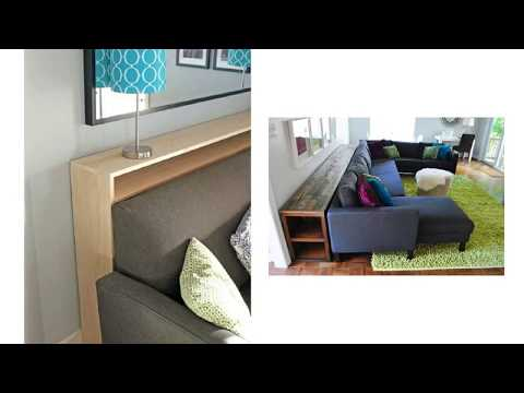Admirable Diy Console Table Behind Couch For Living Room