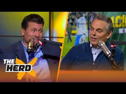 Mark Schlereth explains how Aaron Rodgers is like Peyton Manning | THE HERD