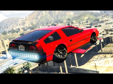 NEW FLYING CAR IN GTA ONLINE!! - (GTA Online DLC)