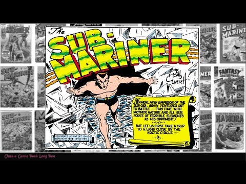"Sub Mariner: ""The Serum Must Get Through"", Human Torch Comics #04"