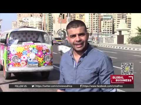8824 economics Optimiam CCTV Afrique Egypt's solar powered restaurant