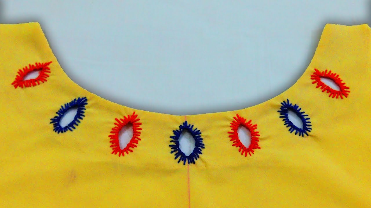 Image result for Hand Stitched Boat Neck Design for Kurti