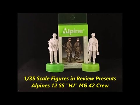 Alpine's 12 SS HJ MG 42 Review
