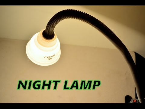 How To Make A Study Table Lamp Easy Way   At Home