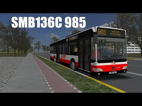 [OMSI 2] SMB136C Woodlands City 985(Balmoral Int to Edgeview Int)