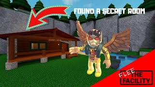 FOUND A SECRET PLACE in Roblox Flee the Facility | Kobe is BEAST!!