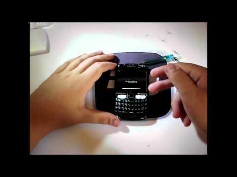 CAMBIAR GOMA DE LA BLACKBERRY CURVE 8520/9300 (ESPAÑOL) HD