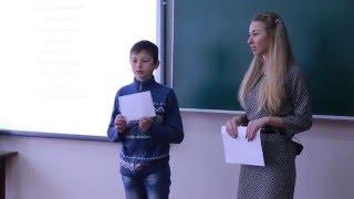 Урок нравственности в МБОУ Вишневский УВК (Татаринова Е.С.)
