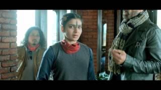 10 endrathukulla tamil movie scenes rahul dev threatens vikram samantha misunderstands vikram
